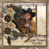 Cow Town Cute