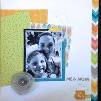 Me & Mom (Jan 2019 Pattern Paper Challenge)
