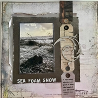 Sea Foam Snow