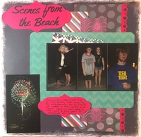 Music and patterned paper challenges
