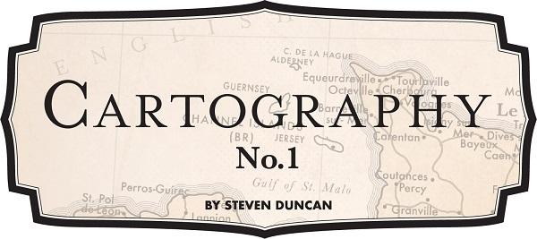 Cartography No. 1 Carta Bella Steven Duncan