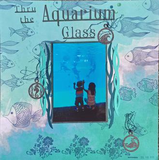Thru Aquarium Glass