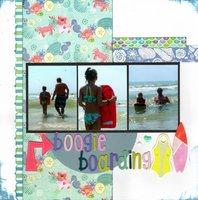 Boogie Boarding