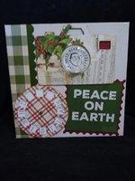 Christmas scrapbook album