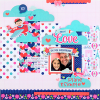 **Doodlebug Design** Love Plane & Simple