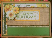 Golden Grove Birthday Card