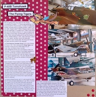 P - 40B Tomahawk - Flying Tigers