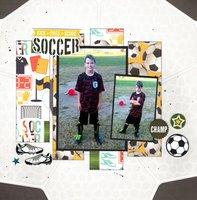 Soccer Kick Pass Score