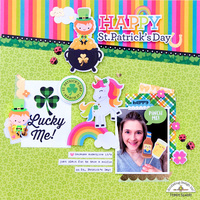 **Doodlebug Design** Happy St. Patrick's Day