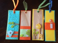 Zoo animal bookmarks