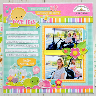 Doodlebug Simply Spring - Love This