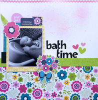 bath time (March 2019 Pattern Paper Challenge)