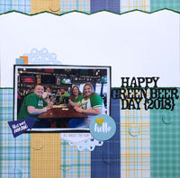 Happy Green Beer Day (March 2019 Color and Shape Challenge)