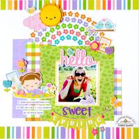 Hello Sweet Spring **Doodlebug Design**