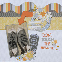 Don't touch the remote
