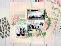 Carta Bella Flower Market - Bloom & Grow