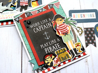 Echo Park Pirate Tales - Play Like a Pirate