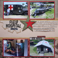 Field Hospital, Vietnam Exhibit in SC