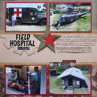 Field Hospital, Vietnam Exhibit in SC