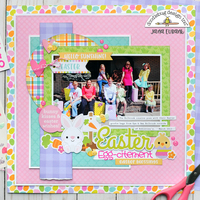 Doodlebug Hoppy Easter - Easter Egg-citement