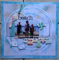 Becky Fleck #142 challenge/ Beach