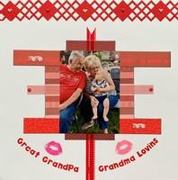 Great Grandpa & Grandma Lovins