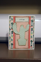Cactus Just For You Card
