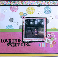 Love This Sweet Girl (April 2019 Manufacturers Challenge)