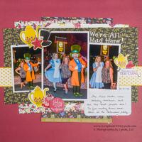 Mad Hatter and Alice Walt Disney World