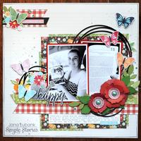 Simple Stories Springtime - Happy