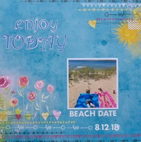 Enjoy Today - Beach Date