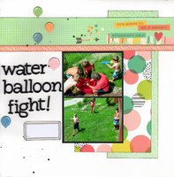 Water Balloon Fight!