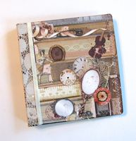 Junk Journal Books and Fairies