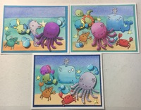 Under the Sea card set 1