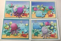 Under the Sea card set 2