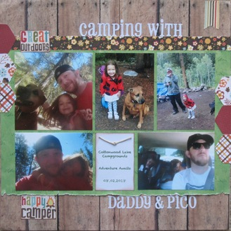 Camping with Daddy & Pico