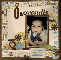 O is for overalls