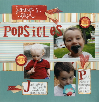 Summer's First Popsicles