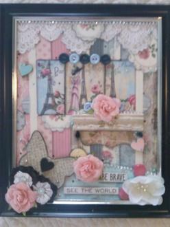 Paris in a frame