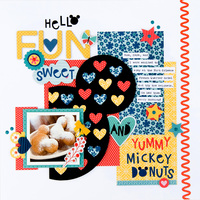 Yummy Mickey Donuts layout **Bella Blvd**