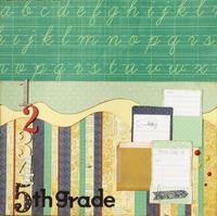 "5th grade 12"" pocket  page"
