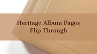 Heritage Album Flip Through