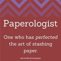 paperologist?