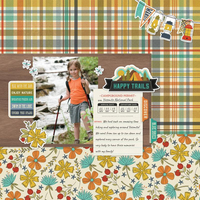 Happy Trails Layout by Simple Stories Designers