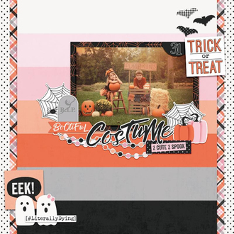 Trick Or Treat Layout by Simple Stories Designers