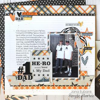 Simple Stories Dad Life - #1 Dad