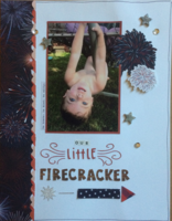 our little firecracker