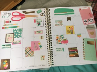 Planner Layout: May