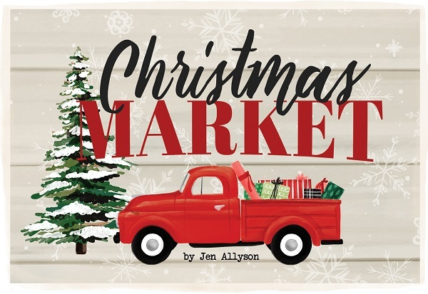 Christmas Market Jen Allyson Carta Bella