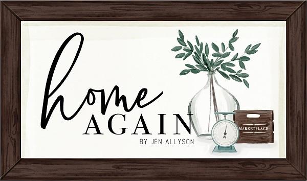 Home Again Carta Bella Jen Allyson